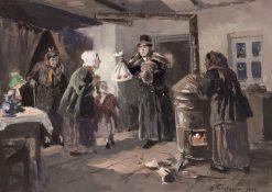 Easter | Vladimir Yegorovich Makovsky | Oil Painting