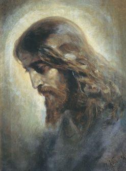 The Head of Christ | Nikolai Koshelev | Oil Painting