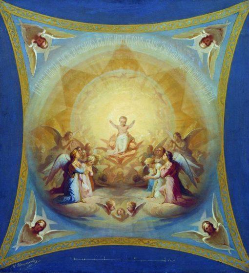 God the Almighty | Nikolai Koshelev | Oil Painting