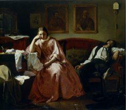 Family Scene | Nikolai Koshelev | Oil Painting