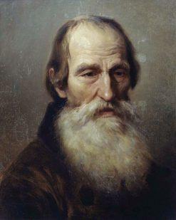 An Old Peasant | Nikolai Koshelev | Oil Painting