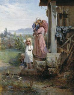 Morning in the Country | Nikolai Koshelev | Oil Painting