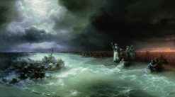 Jews Crossing the Red Sea | Ivan Constantinovich Aivazovsky | Oil Painting