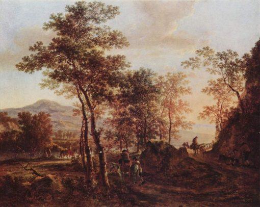Evening Landscape | Jan Both | Oil Painting