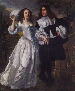 Portrait of a Patrician Couple | Bartholomeus van der Helst | Oil Painting