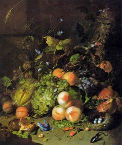 Flower Still-Life | Rachel Ruysch | Oil Painting