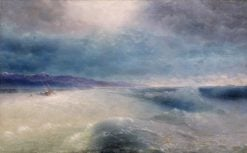 After the Storm | Ivan Constantinovich Aivazovsky | Oil Painting