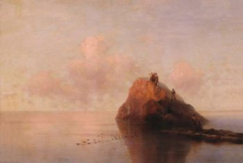 After Shipwreck   Ivan Constantinovich Aivazovsky   Oil Painting