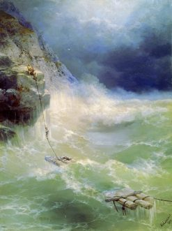 The Surf | Ivan Constantinovich Aivazovsky | Oil Painting