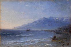 Coastal Landscape | Ivan Constantinovich Aivazovsky | Oil Painting