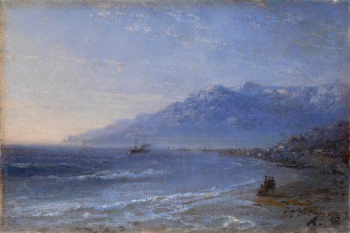 Coastal Landscape   Ivan Constantinovich Aivazovsky   Oil Painting