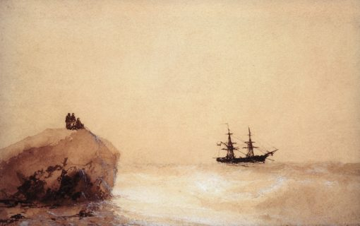 The Farewell   Ivan Constantinovich Aivazovsky   Oil Painting