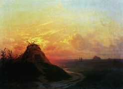 Field at Sunset | Ivan Constantinovich Aivazovsky | Oil Painting