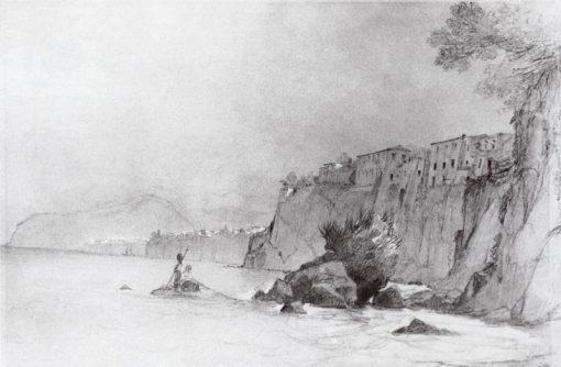Sorrento   Ivan Constantinovich Aivazovsky   Oil Painting