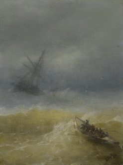 The Lifeboat | Ivan Constantinovich Aivazovsky | Oil Painting