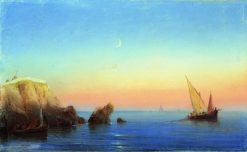 Calm Sea | Ivan Constantinovich Aivazovsky | Oil Painting