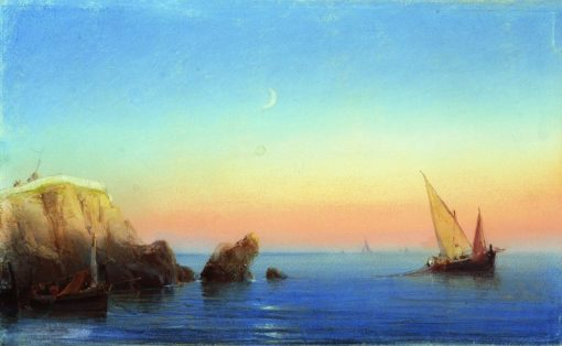 Calm Sea | Ivan Constantinovich Aivazovsky | Oil Painting