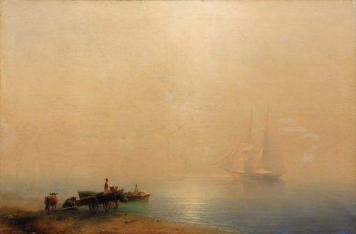 Misty Morning | Ivan Constantinovich Aivazovsky | Oil Painting