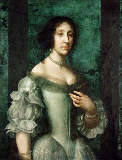 Archduchess Claudia Felicitas | Carlo Dolci | Oil Painting