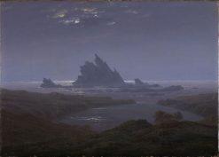 Reefs by the Seashore | Caspar David Friedrich | Oil Painting