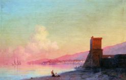 Feodosia at Sunrise   Ivan Constantinovich Aivazovsky   Oil Painting