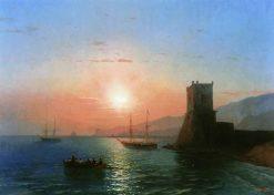 Feodosia at Sunrise | Ivan Constantinovich Aivazovsky | Oil Painting