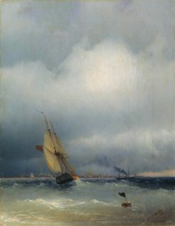 The Gulf of Finland | Ivan Constantinovich Aivazovsky | Oil Painting