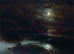 Christopher Columbus | Ivan Constantinovich Aivazovsky | Oil Painting