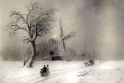 The Windmill | Ivan Constantinovich Aivazovsky | Oil Painting