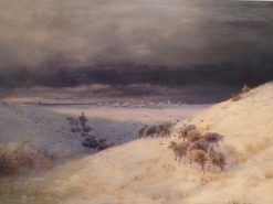 Winter | Ivan Constantinovich Aivazovsky | Oil Painting