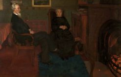 My Father and Mother | William Stott-of-Oldham | Oil Painting