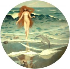 Venus Born of the Sea Foam | William Stott-of-Oldham | Oil Painting