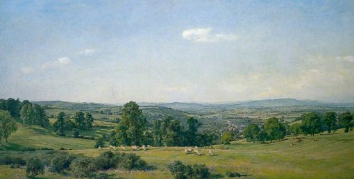 All in the Blue Unclouded Weather | Alfred William Parsons