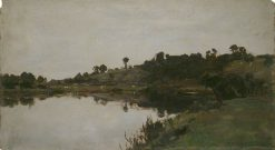 River Landscape | Alfred William Parsons