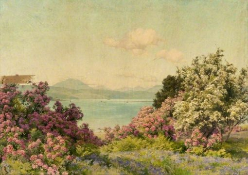 The Narrows at Rosneath and the Gareloch | Alfred William Parsons
