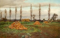 The Swede Harvest | Alfred William Parsons
