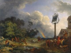 The Rainbow | Philippe-Jacques de Loutherbourg | Oil Painting