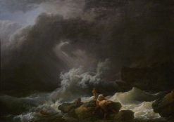 The Shipwreck | Philippe-Jacques de Loutherbourg | Oil Painting