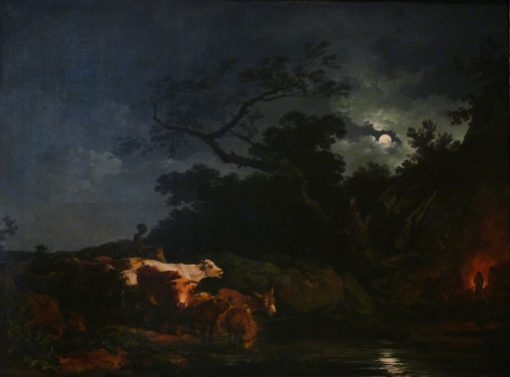 Moonlight | Philippe-Jacques de Loutherbourg | Oil Painting