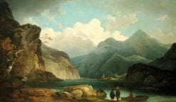 Lake District Landscape | Philippe-Jacques de Loutherbourg | Oil Painting