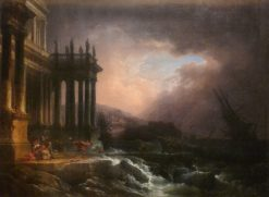 The Storm | Philippe-Jacques de Loutherbourg | Oil Painting