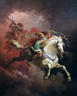 The Vision of the White Horse | Philippe-Jacques de Loutherbourg | Oil Painting