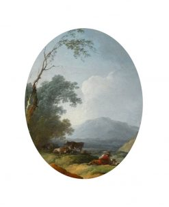 Landscape with Shepherd Resting | Philippe-Jacques de Loutherbourg | Oil Painting