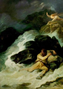 The Tempest | Philippe-Jacques de Loutherbourg | Oil Painting