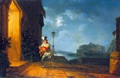 David Garrick as Don John in The Chancers by John Fletcher | Philippe-Jacques de Loutherbourg | Oil Painting