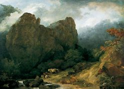 Dovedale in Derbyshire | Philippe-Jacques de Loutherbourg | Oil Painting