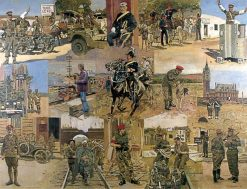 The Centenary of the Royal Military Police | Ken Howard | Oil Painting