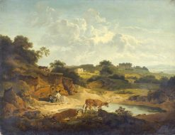 Landscape | Philippe-Jacques de Loutherbourg | Oil Painting