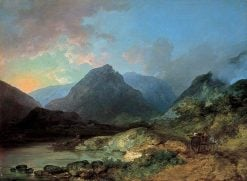 Landscape in the Lake District | Philippe-Jacques de Loutherbourg | Oil Painting