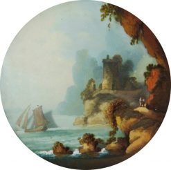 Seascape | Philippe-Jacques de Loutherbourg | Oil Painting